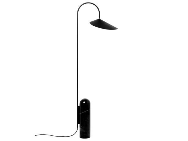 Lampadaire ARUM FLOOR LAMP NOIR_100133101 ferm living