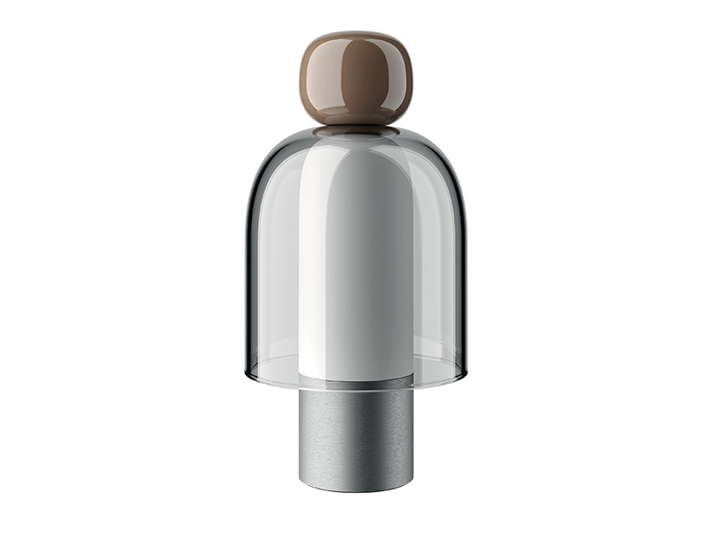 Lampe portable rechargeable EASY PEASY CHESTNUT_170004 lodes