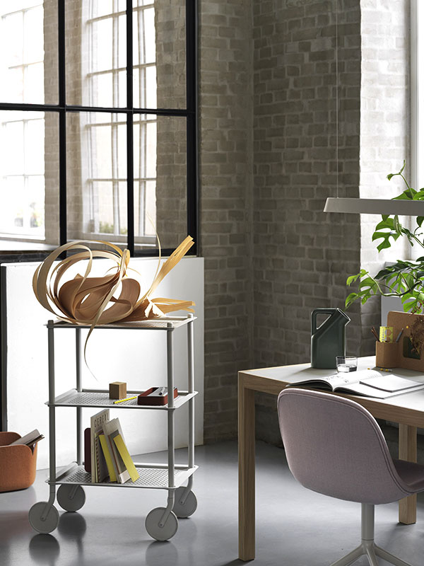 Ambiance chariot FLOW TROLLEY 3 TABLETTES GRIS_98336 (1) muuto