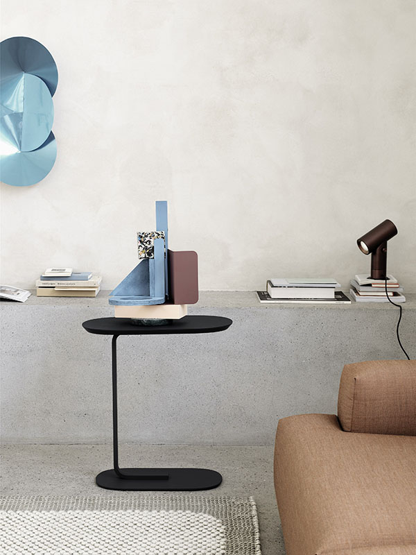 Ambiance table d'appoint RELATE SIDE TABLE NOIR_13902 (1) muuto