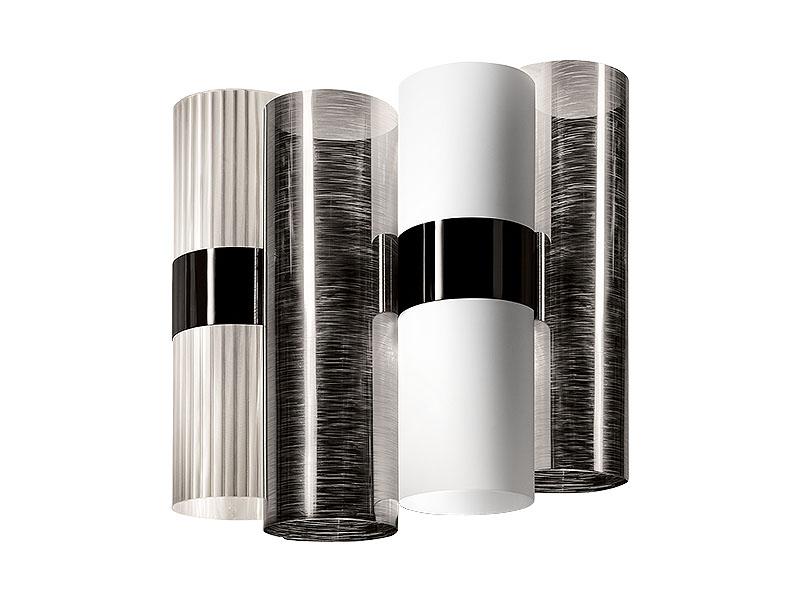 Applique LA LOLLO PEWTER WHITE (2X6W LED E14)_LAL87APP0000PE000 slamp