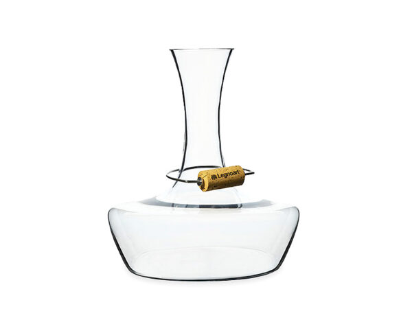 Carafe en cristal soufflé sans plomb CHATEAU DU GOUT legnoart