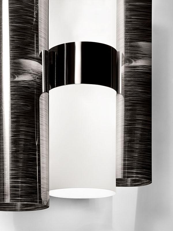 Détail APPLIQUE LA LOLLO PEWTER WHITE (2X6W LED E14)_LAL87APP0000PE000 slamp