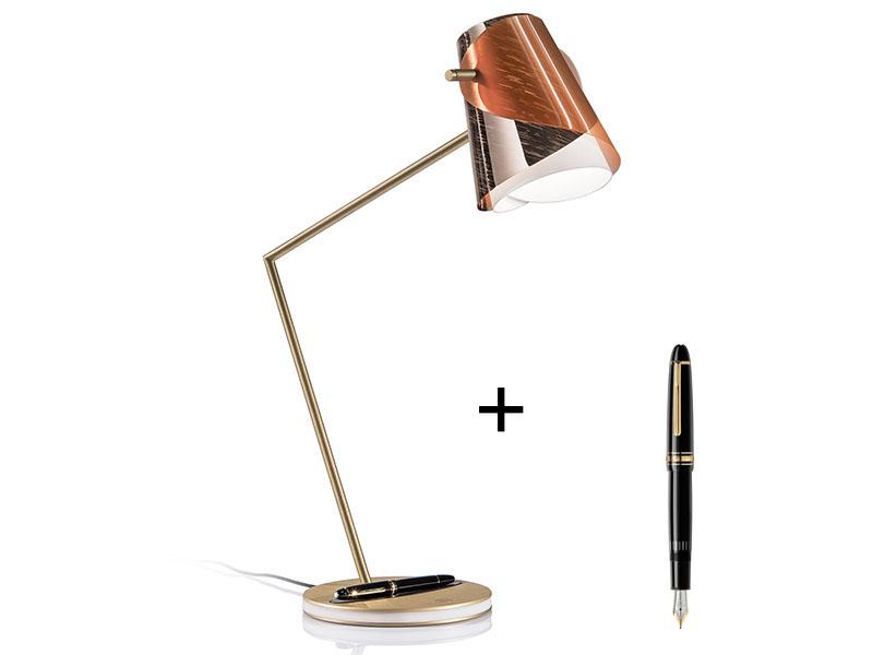 Lampe de bureau & stylo à plume MONTBLANC OVERLAY-BALL POINT PEN_OVE94TAV000FRA000 slamp