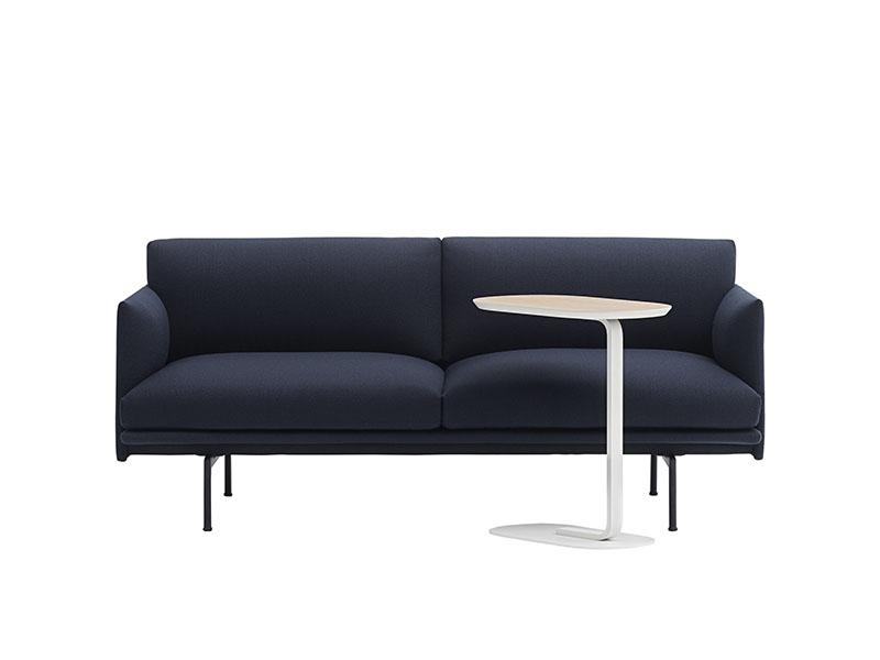 Présentation table d'appoint RELATE SIDE TABLE CHÊNE VEINÉ ET BLANC ÉTEINT_13905 (1) muuto