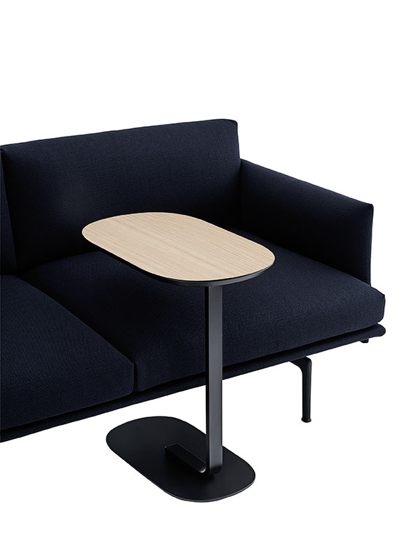 Présentation table d'appoint RELATE SIDE TABLE NOIR_13902 (1) muuto