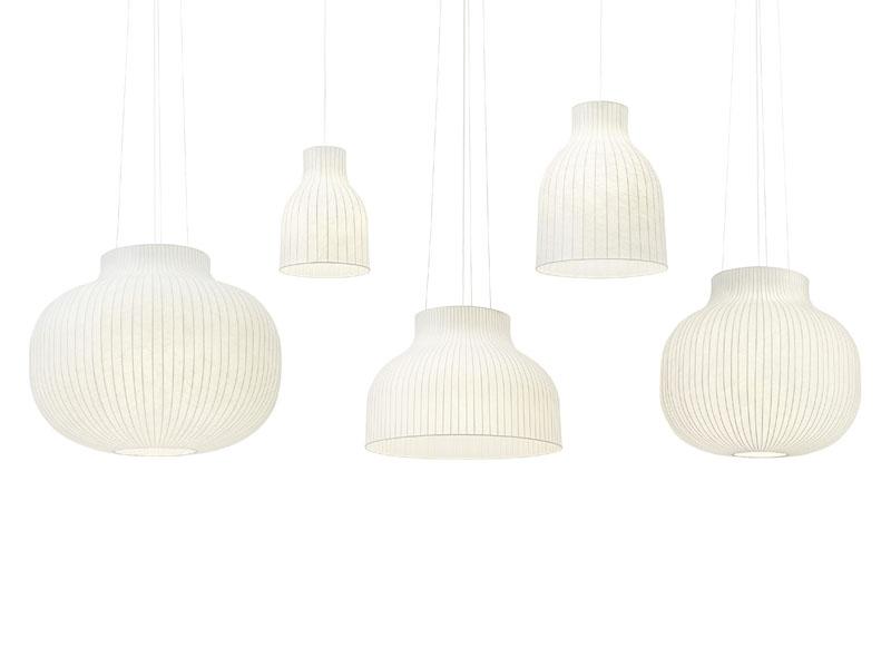 Présentation des différents modèles de suspensions STRAND PENDANT LAMP muuto
