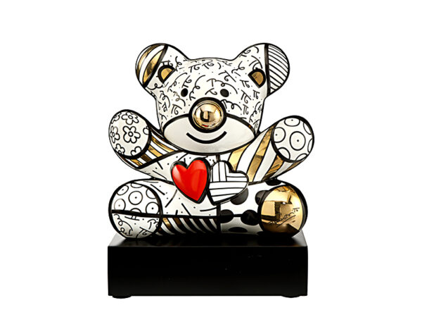 Objet d'art GOLDEN TRULY YOURS (ROMERO BRITTO) goebel the art of lifestyle