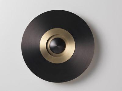 Ambiance applique en laiton EARTH SOBER Ø33 CM GRAPHITE & BRUNI (1) cvl contract