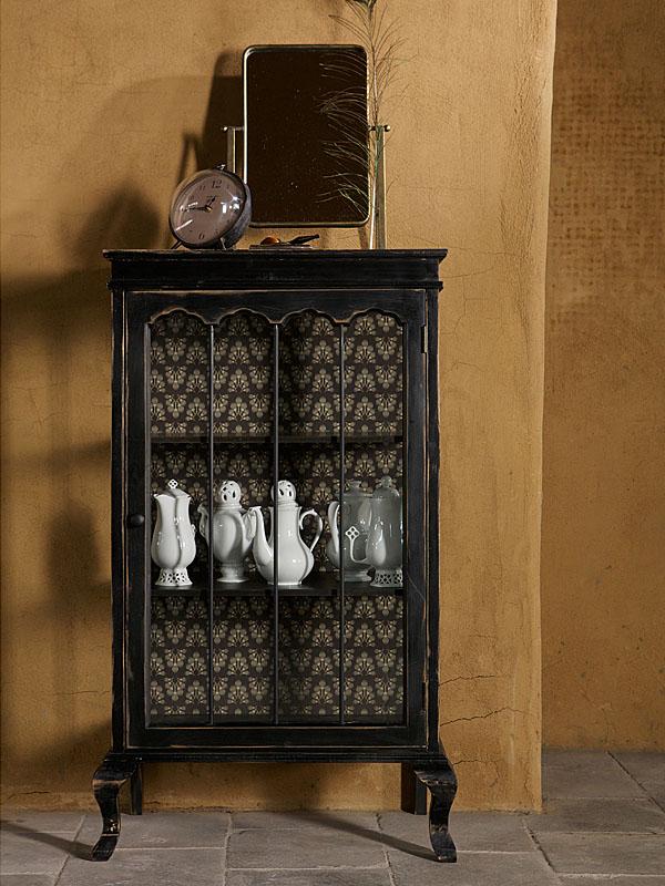 Ambiance vitrine en bois noir ODD (2)_800808-Z woood