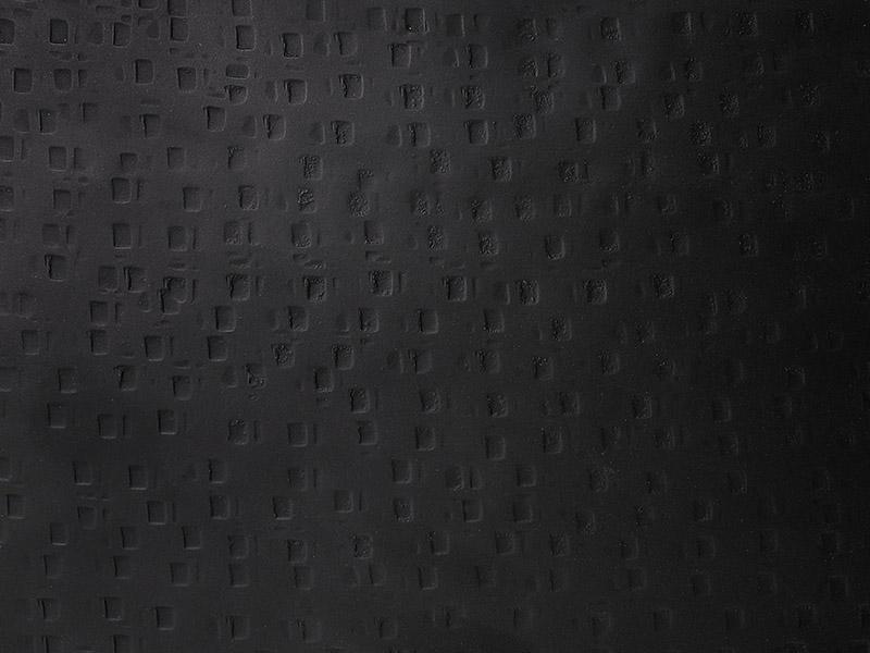 Détails de finitions table basse en métal perforé ESTHER NOIR_38537-BLA-15 pomax home collection