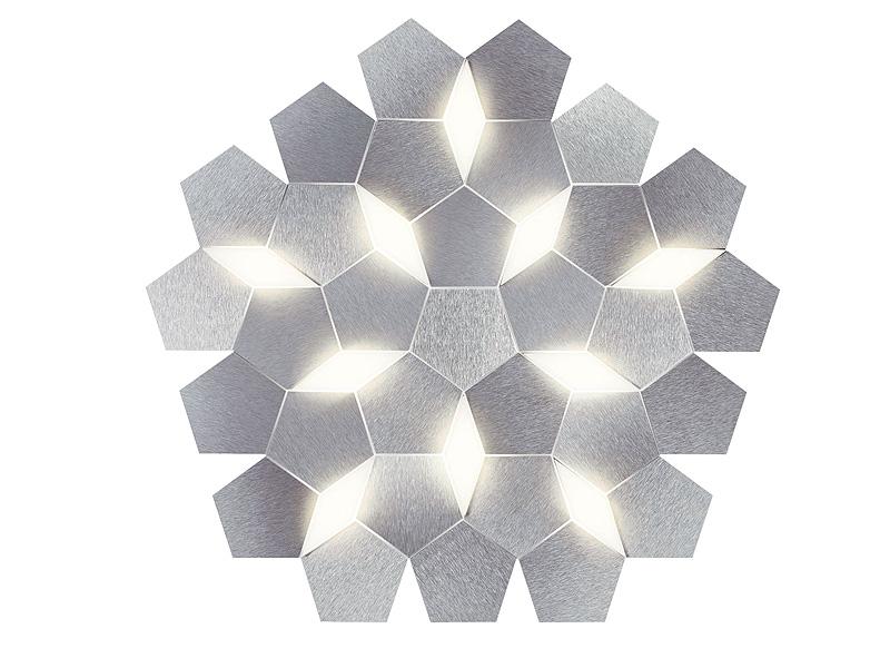 Plafonnier en aluminium KARAT 79 (10 MODULES LED 6800 LM)_75-785-072 grossmann