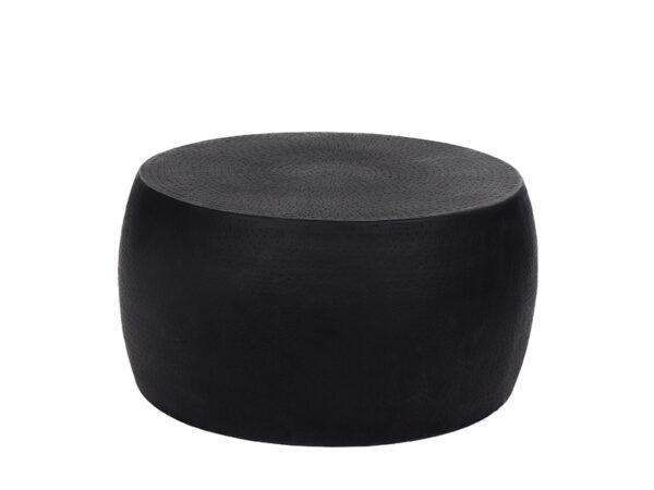 Table basse en métal perforé ESTHER NOIR_38537-BLA-15 pomax home collection
