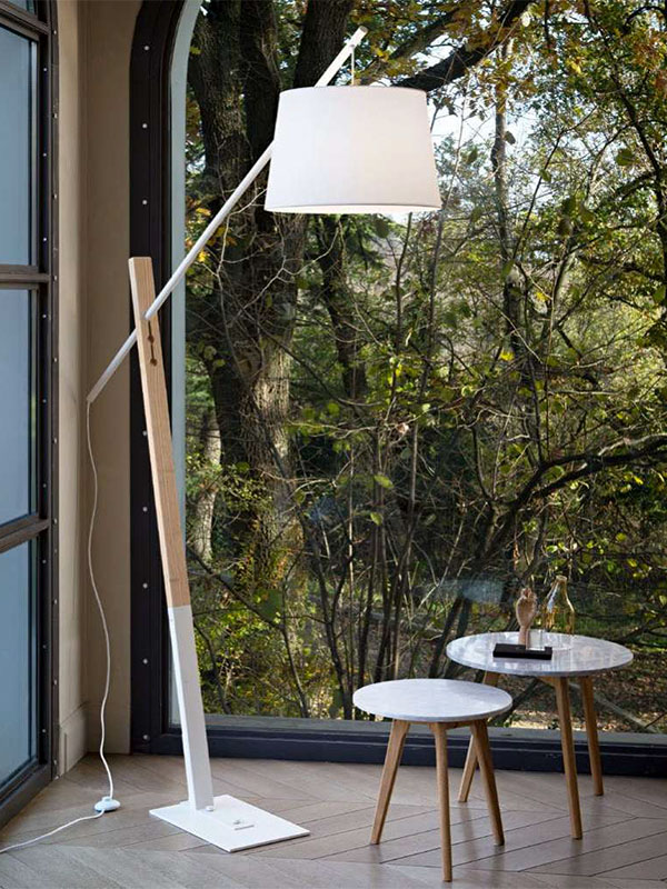 Ambiance lampadaire EMINENT BLANC_207582 ideal lux