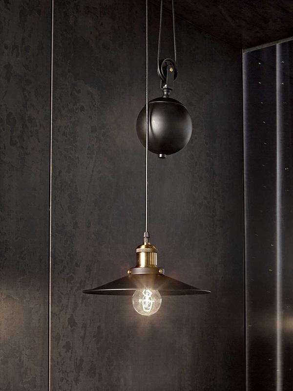 Ambiance suspension monte et baisse 1 lampe UP & DOWN SP1_136332 ideal lux