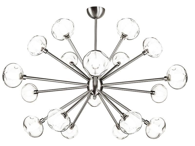 Lustre LAIKA 18 LAMPES FINITION NICKEL_LAIKA 18 NI cvl manufacture