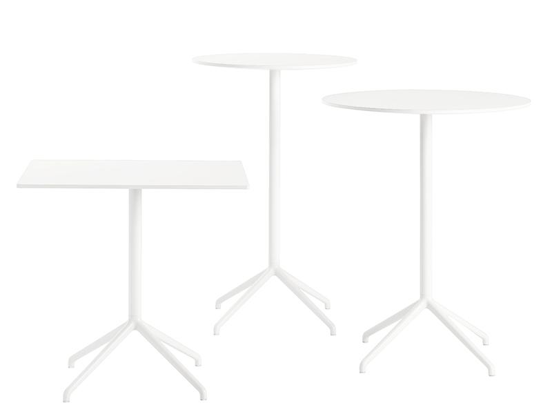 Présentation des table de café STILL CAFÉ TABLE BLANC muuto