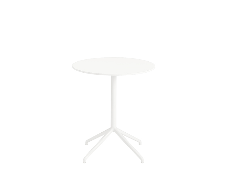 Table de café STILL CAFÉ TABLE BLANC (Ø65 HAUTEUR 73 CM)_65561 muuto
