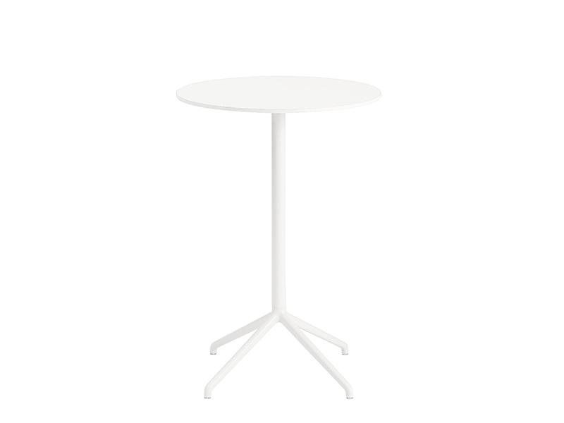 Table de café STILL CAFÉ TABLE BLANC (Ø65 HAUTEUR 95 CM)_65571 muuto