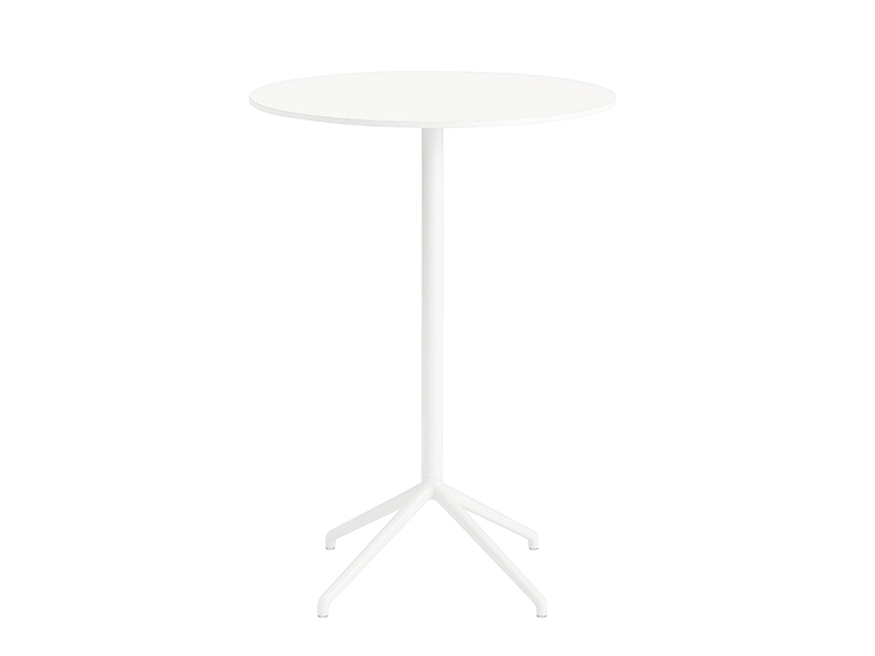 Table de café STILL CAFÉ TABLE BLANC (Ø75 HAUTEUR 105 CM)_65551 muuto