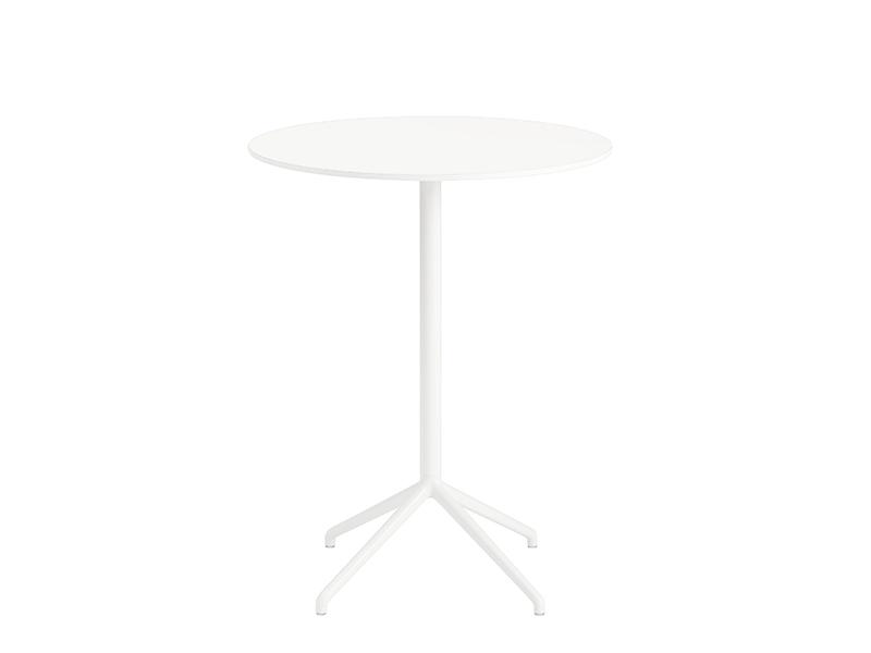 Table de café STILL CAFÉ TABLE BLANC (Ø75 HAUTEUR 95 CM)_65581 muuto