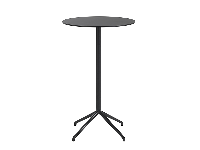 Table de café STILL CAFÉ TABLE NOIR (Ø65 HAUTEUR 105 CM)_65584 muuto