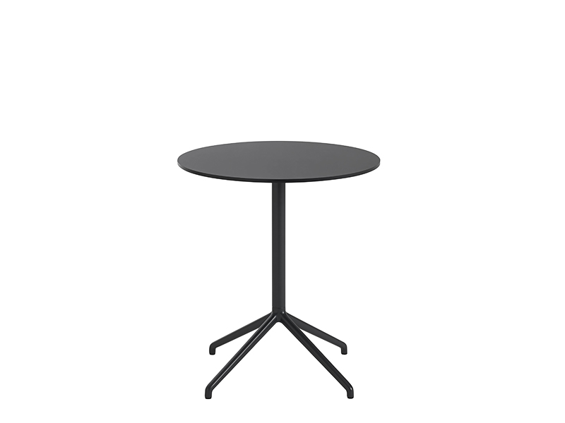 Table de café STILL CAFÉ TABLE NOIR (Ø65 HAUTEUR 73 CM)_65564 muuto