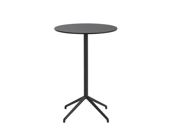 Table de café STILL CAFÉ TABLE NOIR (Ø65 HAUTEUR 95 CM)_65574 muuto