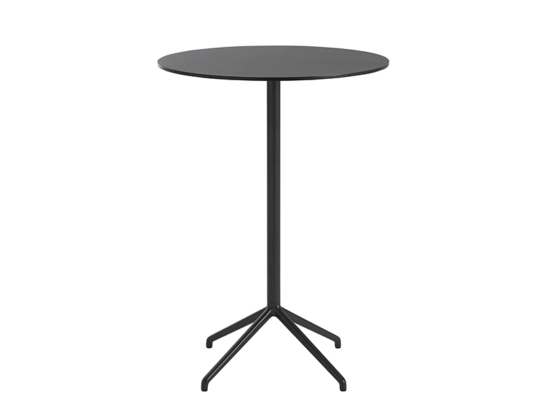 Table de café STILL CAFÉ TABLE NOIR (Ø75 HAUTEUR 105 CM)_65554 muuto
