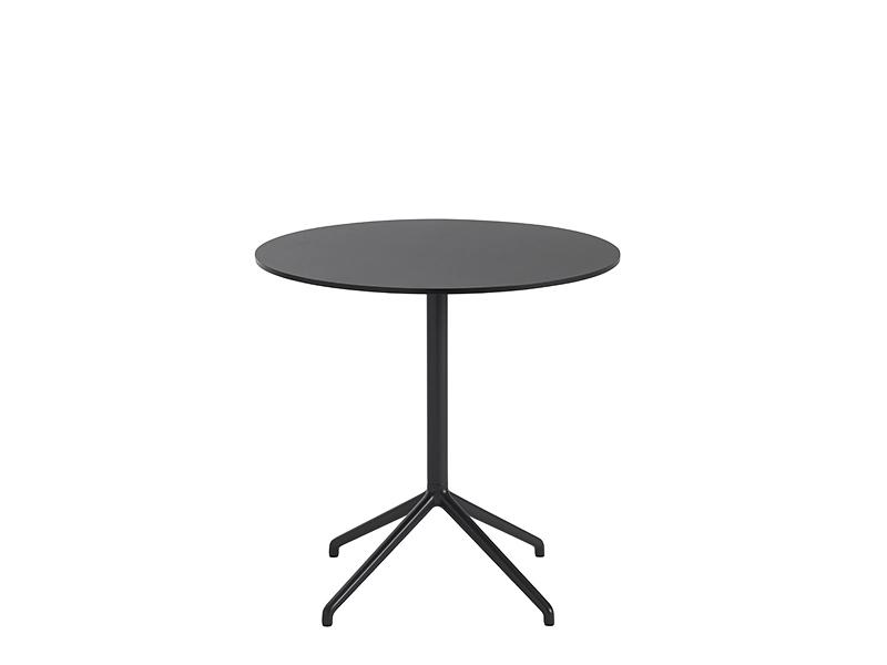 Table de café STILL CAFÉ TABLE NOIR (Ø75 HAUTEUR 73 CM)_65534 muuto