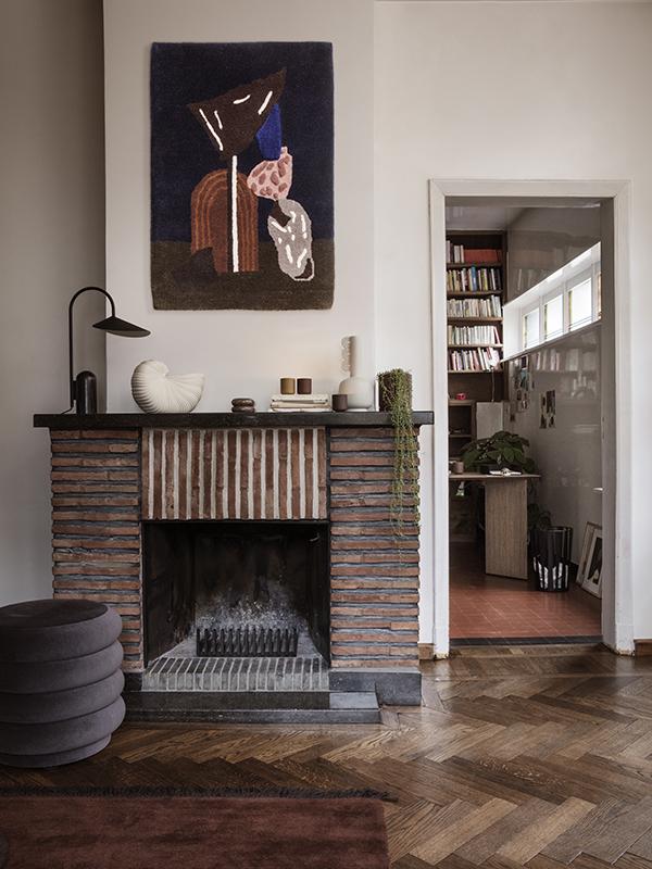 Ambiance lampe de table en marbre et métal ARUM TABLE LAMP BLACK_100134101_4 ferm living