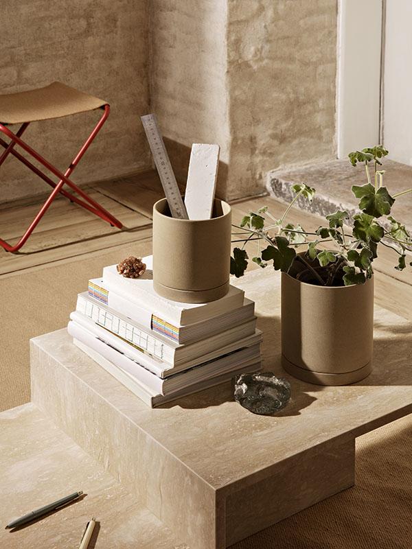 Ambiance table basse en travertin DISTINCT_1005362762 (5) ferm living
