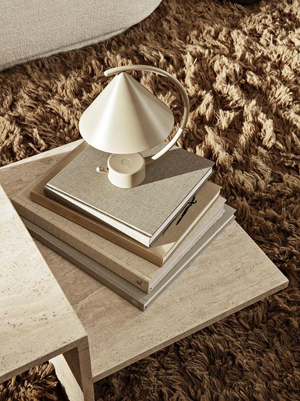 Ambiance table basse en travertin DISTINCT_1005362762 (6) ferm living