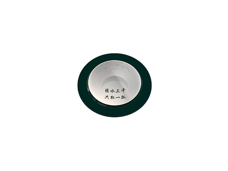 Service d'assiettes et saladiers empilable QING (ÉLÉMENT 1) ibride