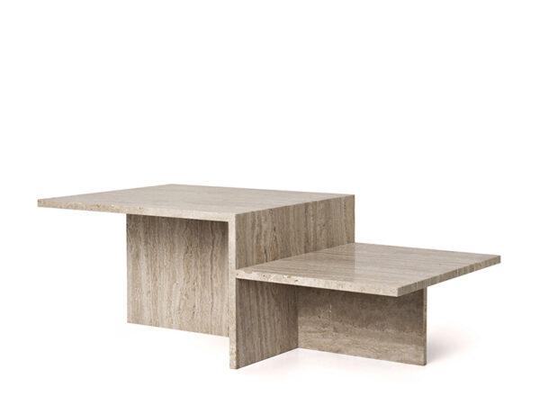 Table basse en travertin DISTINCT_1005362762 ferm living